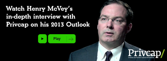 Watch Henry McVey's in-depth interview with Privcap on his 2013 Outlook