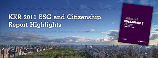 KKR 2011 ESG and Citizenship Report Highlights