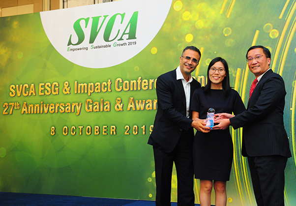 "KKR and BBP Win the SVCA's First-Ever ""ESG Award of Distinction"""