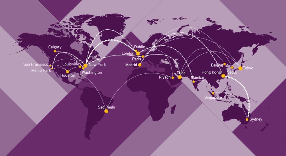 KKRキャピタル・マーケッツは世界の拠点からニーズに沿ったソリューションを提供