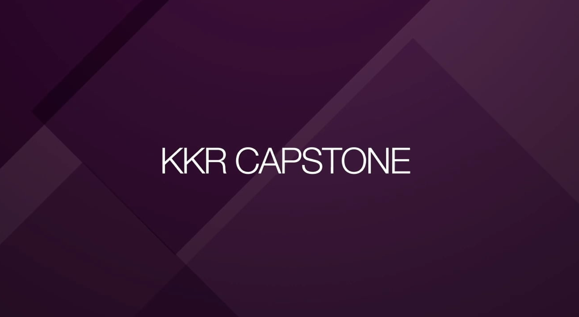 Value Creation with KKR Capstone
