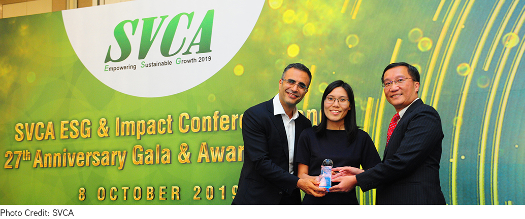 """KKR and BBP Win the SVCA's First-Ever """"ESG Award of Distinction"""""""