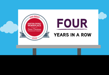 KKR Included in 100 Best Adoption-Friendly Workplaces… Again!