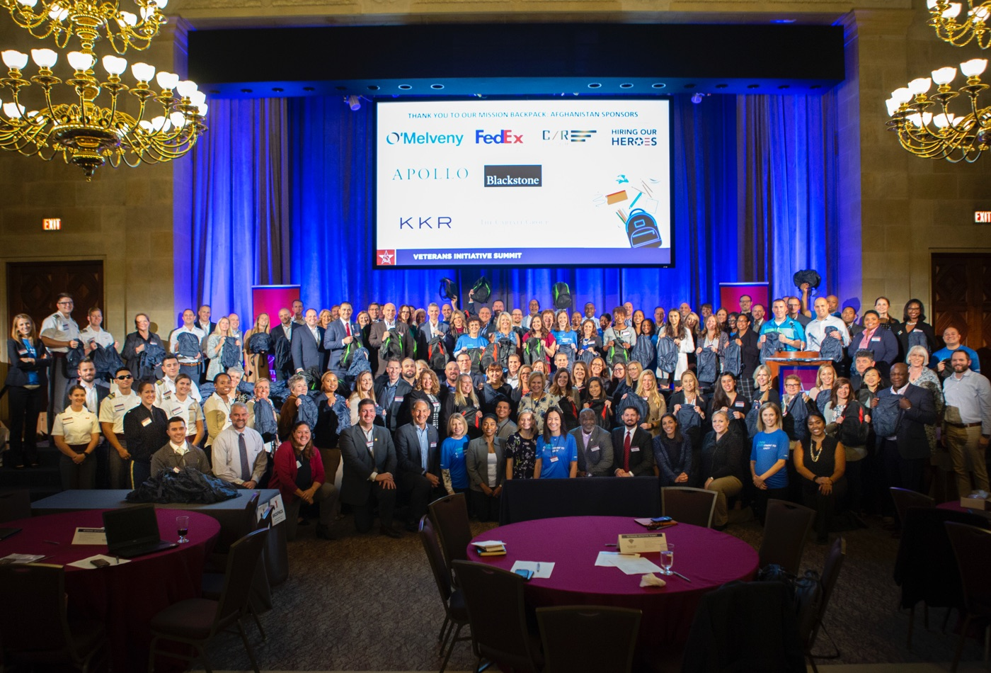 Driving Careers, Giving Back - 2018 Veterans Initiative Summit