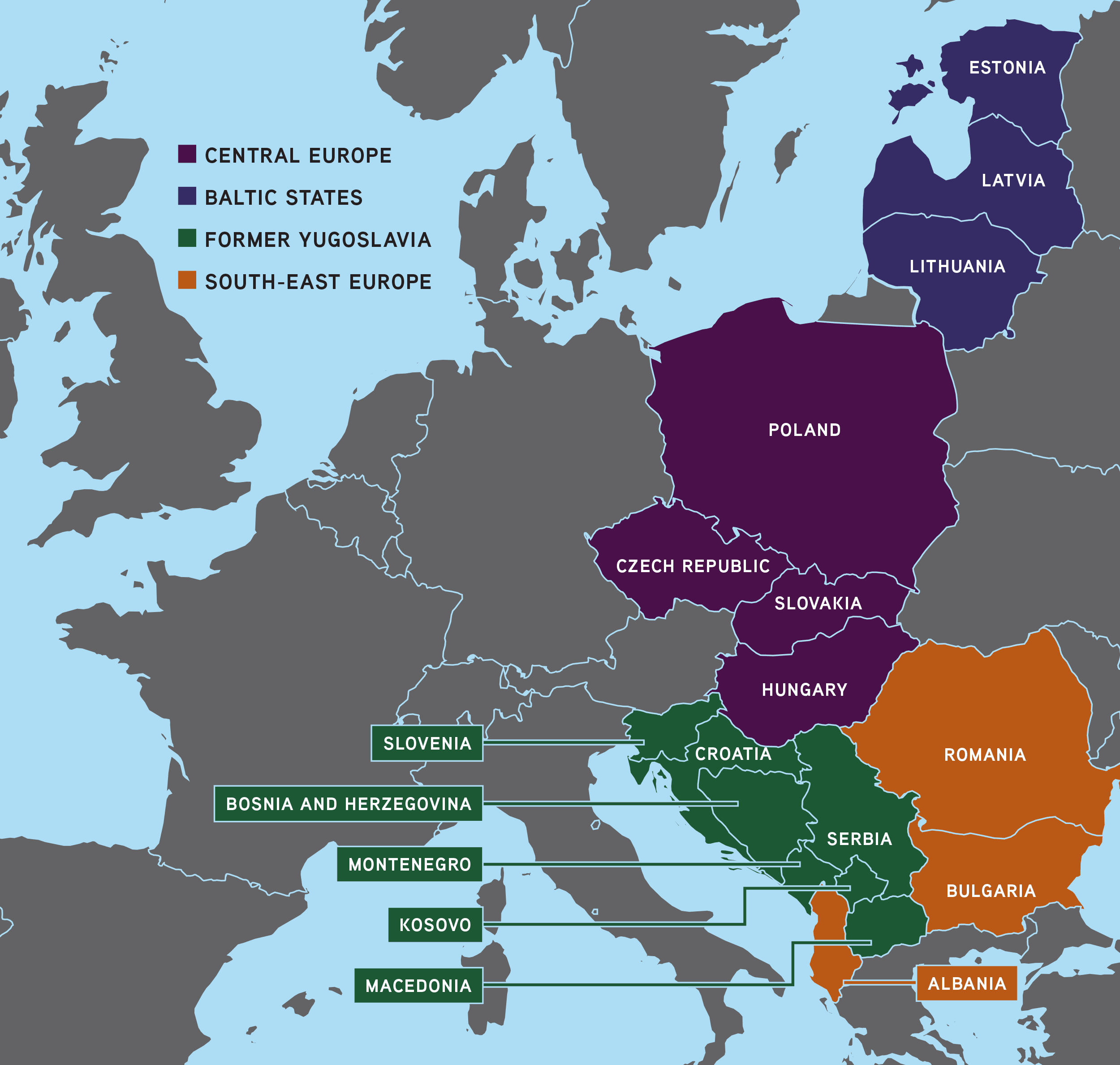 Unlocking the World for Central and Eastern European ...