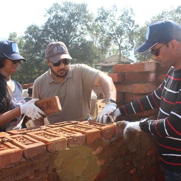40 Miles Outside Mumbai, KKR Colleagues Build 40 Homes