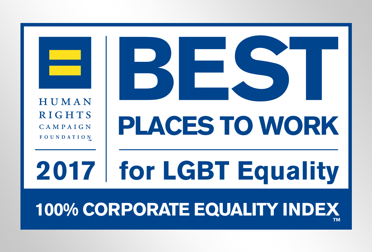 KKR earns 100% on the HRC's Corporate Equality Index for LGBT-inclusive workplace policies and practices
