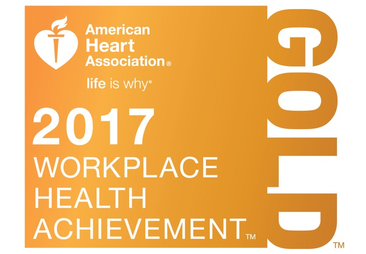 KKR Receives Gold Recognition in AHA's Workplace Health Achievement Index
