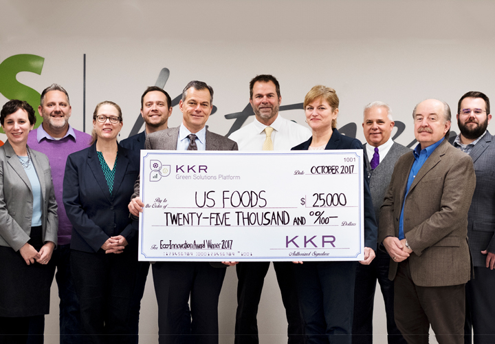 US Foods Serves Good Food and Wins KKR's Eco-Innovation Award